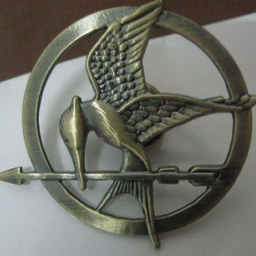 Best price 2 colors accessorie brooch mockingjay bird breastpin 2 colors accessorie brooch mockingjay bird breastpin badge pin pendant replica mozeypictures Images