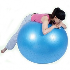 75 cm fitness ball yoga ball random color