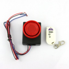 Electromobile electric motorcar Safety Security Vibration Sensor Alarm Anti-theft Remote Control New