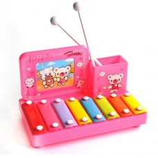 color pen holder photo frame octave struck the piano color random