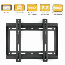 "Wall Mount for 14""-32"" Flat Panel Screen LCD/Plasma TV Monitor"
