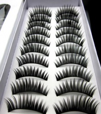 10 pairs beautiful high grade of dense eyelashes false eyelash