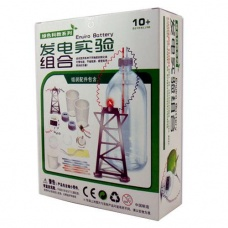 Power generation experimental combination science toys electronic clock