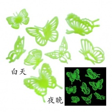 Full House luminous paste / bedroom wall stickers / ceiling paste butterfly
