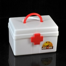 Medication box first aid kit. random color