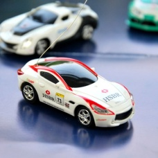 Mini remote control miniature sports car random color