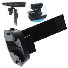 2 in 1 Universal Black Plastic Sliding Camera Clip Mount for Xbox 360 Kinect and PS3 Move