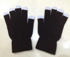 Ipad iPhone touch screen touch gloves capacitance screen saver warm gloves