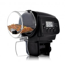 Automatic Fish Feeder with LCD Display