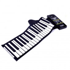 2013 hot selling 61keys USB new silicone flexible roll up piano