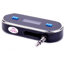 In-car Hands free & FM Transmitter for IPhone5/ IPod/ IPhone4/ iphone3GS/ MP3
