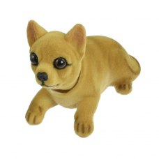 Auto Car Chihuahua Nodding Bobblehead Dashboard Dogs Decors Toy