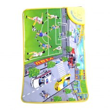 Portable cute  musical carpet for Intelligence  Development YQ3909 Happy Football Pattern