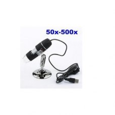 50x to 500x 8 LED USB Digital Microscope Endoscope 2.0mp Video Magnifier Camera