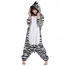 Cute cartoon pajamas animal zebra leotard