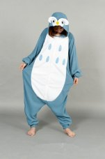 Fashion  piece pajamas home service men and women cartoon owl cartoon costume