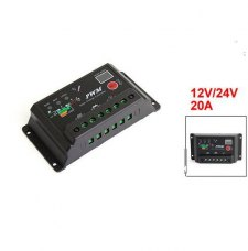 10A 12V/24V Auto Switch Solar Charge Controller Regulator for PV system