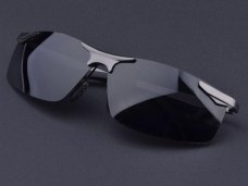 New Anti-ultraviolet Anti-vertigo Polarized Sunglasses Sun Glasses for Cops Pilot Driver