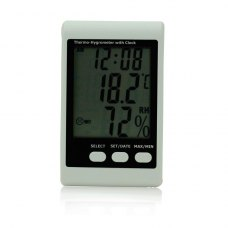 BSIDE EHT01 indoor electron hygrothermograph meter/alarm clock/Large Screen Display