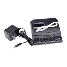 KSD-288 series digital telephone recorder 8G MP3 player voice record & monitor portable black