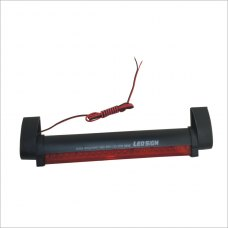 1.8W 24-LED Red Light Motorcycle/Car Brake Lamp (12V)