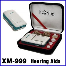 Good Hear Aids Convenient XM-999E Voice Sound Amlifier Hearing Aid