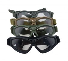 New Tactical Airsoft CS Goggle Eye Protection Outdoor Paintball War Game Eye Protective Goggles