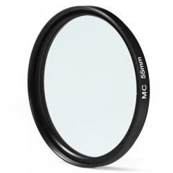 55mm MC UV Camera Multi Coated Ultra-violet Filter Protector for Sony Canon Pentax