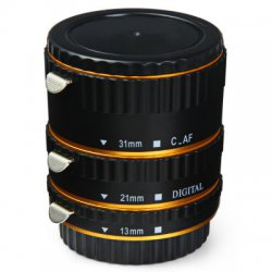 13mm 21mm 31mm AF Auto Focus Macro Extension Tube Set for Canon DSLR Camera