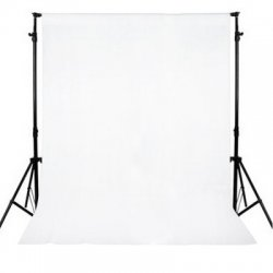 3 x 3M White Muslin Photography Background Backdrop