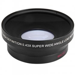 67mm 0.43X Super Wide Angle Macro Lens for Canon Nikon Sony