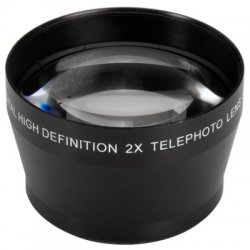 52mm 2X Telephoto Lens for Nikon Sony Canon