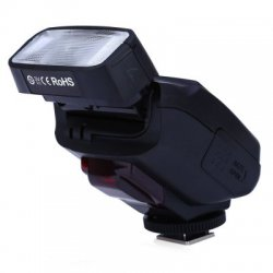 JY - 610C TTL LCD Flash Speedlite Light for Canon 750D / 760D / 5DR / 5DRS / 60D 70D / 700D / 5D3 DSLR Camera