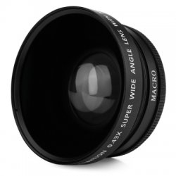 HD 72MM 0.43X Wide Angle Macro Camera Lens