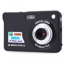 18MP HD 2.7 inch TFT 8X Digital Zoom Camera