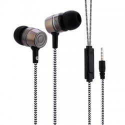 01 3.5MM Plug Stereo Music Deep Bass In-ear Earphones Headphones