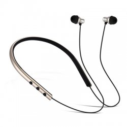 JUSTNEED M2 Neck Type Sport Bluetooth V4.1 Stereo Earphones