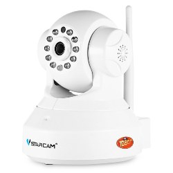 C37S HD 1080P Wireless WiFi IP Indoor Security Camera Night Vision / P2P / Motion Detection / Pan and Tilt