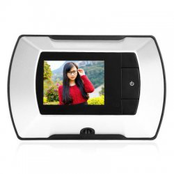 601A 2.4 inch LCD Digital Peephole Smart Door Viewer with Camera Photo Function Home Security