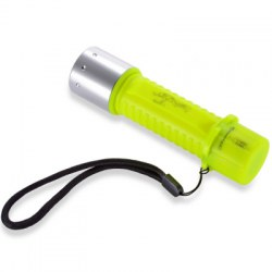 1100 Lumen Professional Diving Flashlight Bright LED Submarine Light Scuba Safety Lights Waterproof Underwater Torch