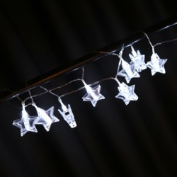 1.5M LED Star Shape Photo Clip String Light Decoration Lighting Chains