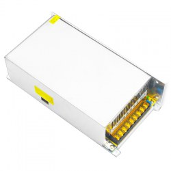 JIAWEN 40A 360W Switching Power Supply Driver for LED Strip AC 110 / 220V Input To DC 12V