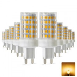 10PCS Ywxlight G9 2835SMD Dimmable Ceramic Led Light Crystal Chandelier Ac 200 - 240V