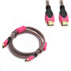 High Speed HDMI Cable Nylon Braided - Supports 4K Ultra HD 3D 1080p Ethernet and Audio Return