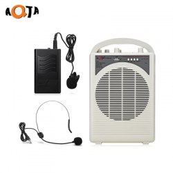 AQTA ATA - 112USB Portable Voice Amplifier Wireless Handheld Mic Headset Microphone for Guider Teacher