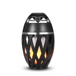 A1 Bluetooth Speaker Portable LED Flame Light