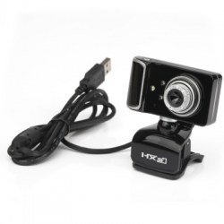 USB Webcam PC Camera Clip Style Rotatable Angle HD Display