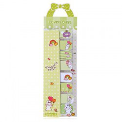 Cartoon Mini Sticky Marker Index Tab Sticky Note