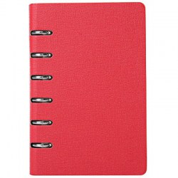 Classic A7 Size Leather Six-hole Loose-leaf Notebook for Diary Note Travel Journal Business Notepad