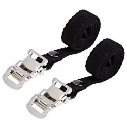 1 Pair Fixed Gear Bike Bicycle Pedal Toe Strap Foot Binding Band